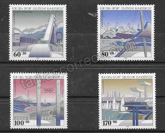 Filatelia Alemania-1993-01