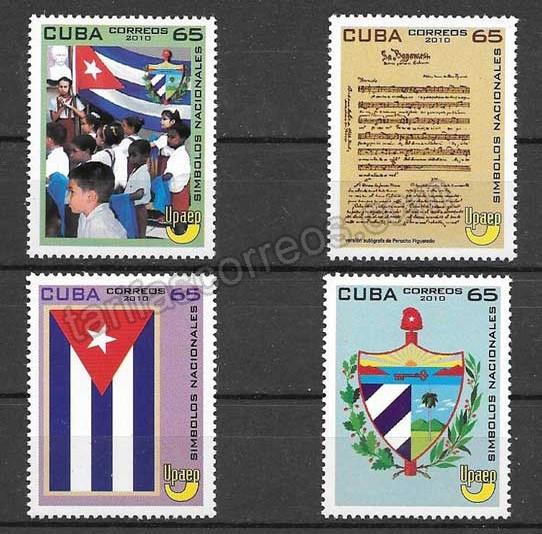 simbolos nacionales Cuba 2010
