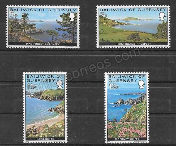 Filatelia turismo de la Isla 1976