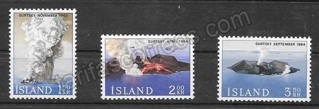 Sellos Filatelia Turismo Islandia 1965