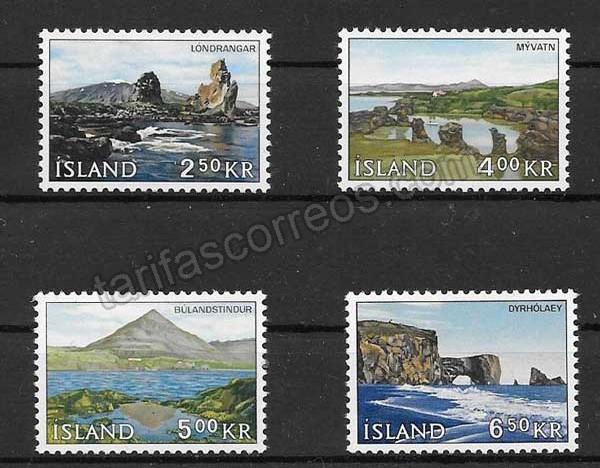 Sellos Filatelia Islandia-1966-01