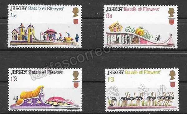 Colección sellos turismo de la Isla