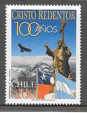 Filatelia Arquitectura Chile 2002