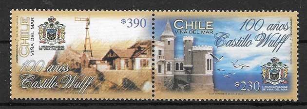 sellos colección arquitectura 2006 Chile