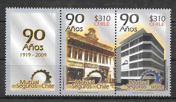 sellos arquitectura Chile 2009