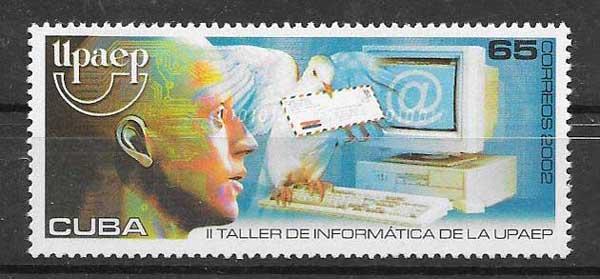 Colección sellos América UPAEP Cuba 2002