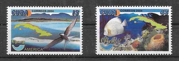 Colección sellos UPAEP Cuba-2004-12