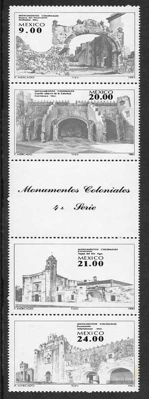 sellos arquitectura México 1983