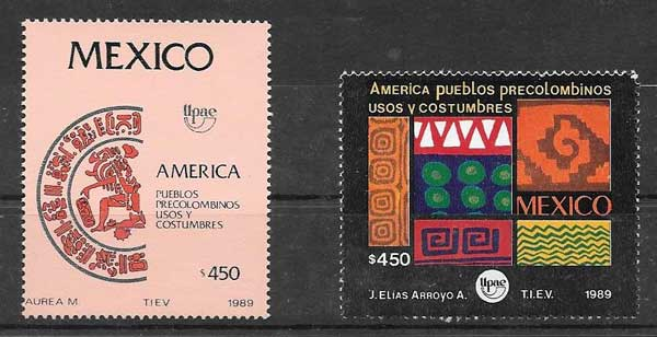 Filatelia UPAEP México 1989