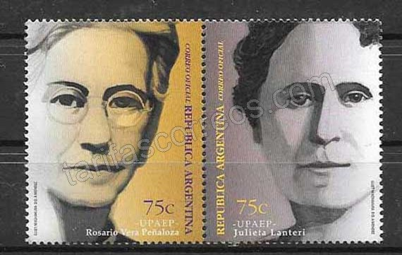 sellos Argentina-1999-01