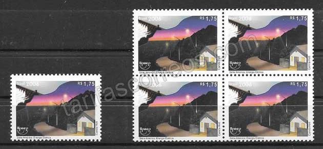 Sellos colección Brasil 2006 UPAEP