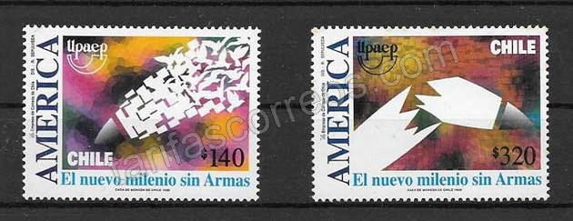 Filatelia Chile UPAEP 1999