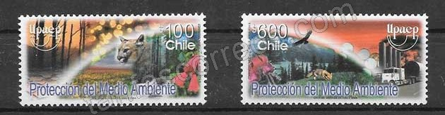 Filatelia Chile 2004 UPAEP