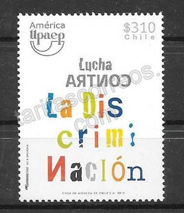 Filatelia UPAEP Chile 2013