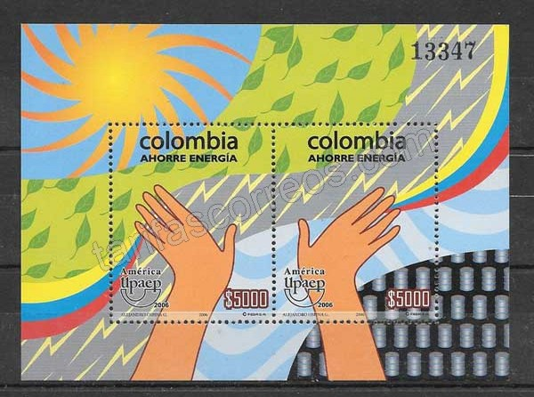 Filatelia Colombia 2006