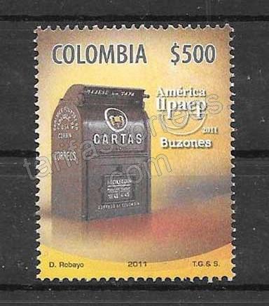 Filatelia Colombia 2011