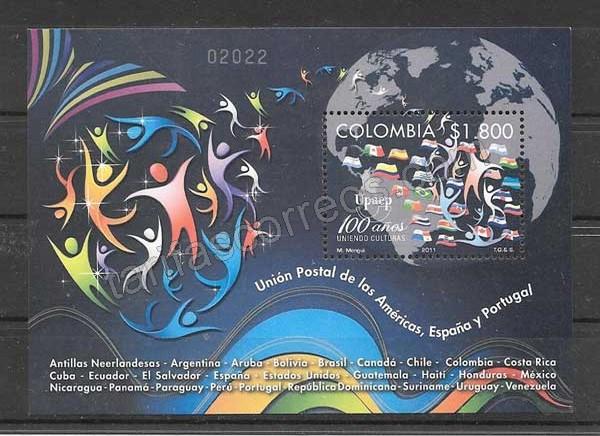 Sellos Colombia UPAEP 20'11